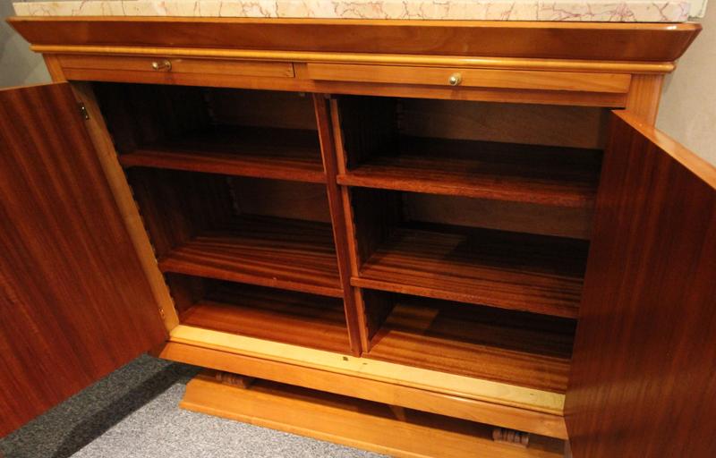Precious 1940s Cabinet In Sycamore