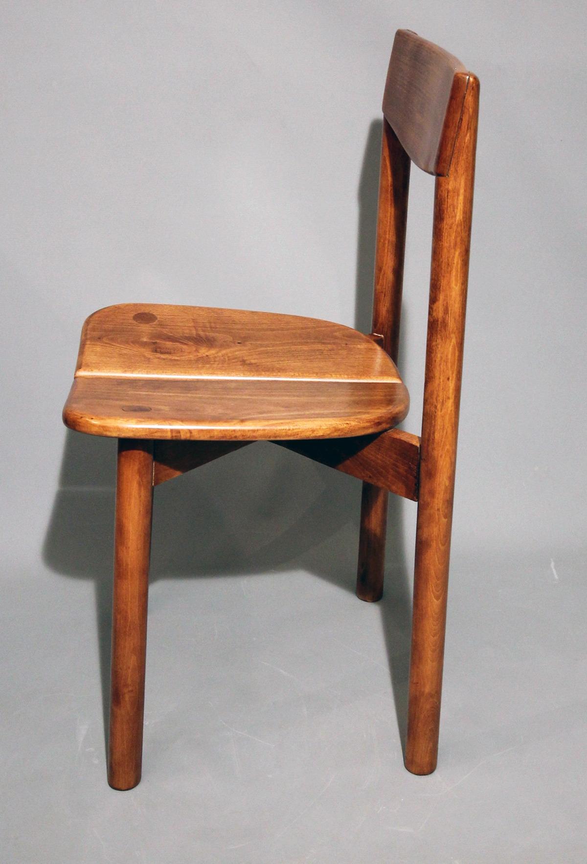 Pierre Gautier-Delaye. Ensemble de quatorze chaises époque 6